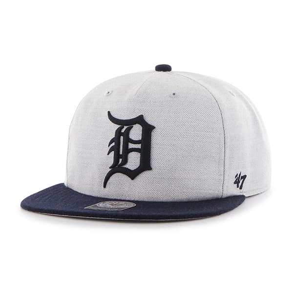 Detroit Tigers Gray Lakeview Snapback Adjustable Hat