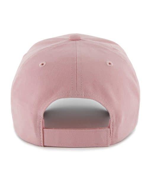 Detroit Tigers Pink Girls Adjustable Hat Back