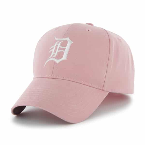 Detroit Tigers Pink Girls INFANT Stretch Fit Hat