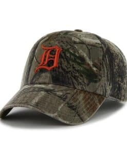 Detroit Tigers Realtree Camo Adjustable Hat