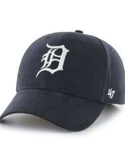 Detroit Tigers YOUTH 47 Brand Navy MVP Adjustable Hat