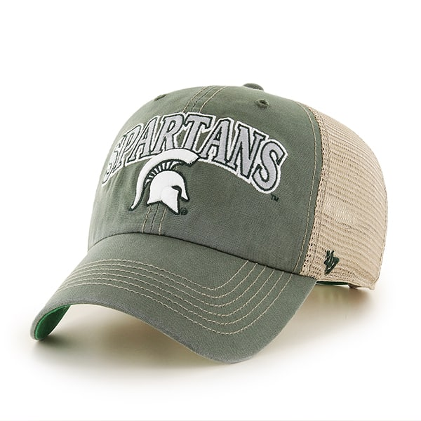 Michigan State Spartans 47 Brand Tuscaloosa Clean Up Adjustable Hat