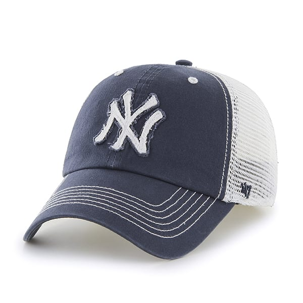 New York Yankees Navy Taylor Mesh Stretch Fit Hat