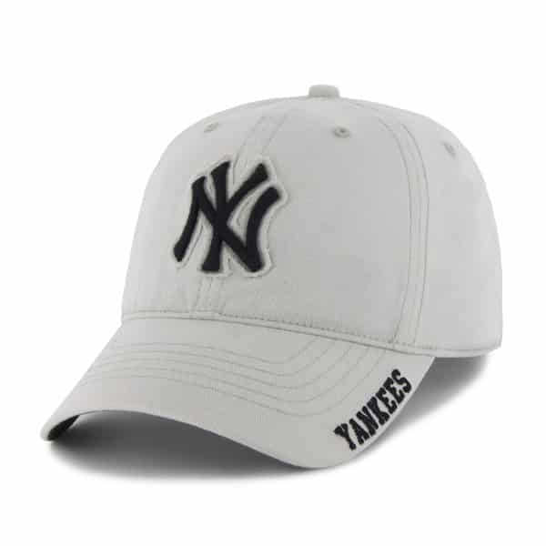 3486ea5cddf New York Yankees 47 Brand White Winston Stretch Fit Hat - Detroit ...