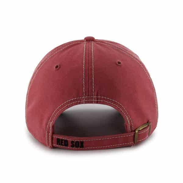 Boston Red Sox 47 Brand Island Red Skiff Clean Up Adjustable Hat