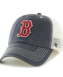Boston Red Sox Taylor Closer Mesh Stretch Fit Hat