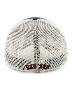 Boston Red Sox Taylor Closer Mesh Stretch Fit Hat Back