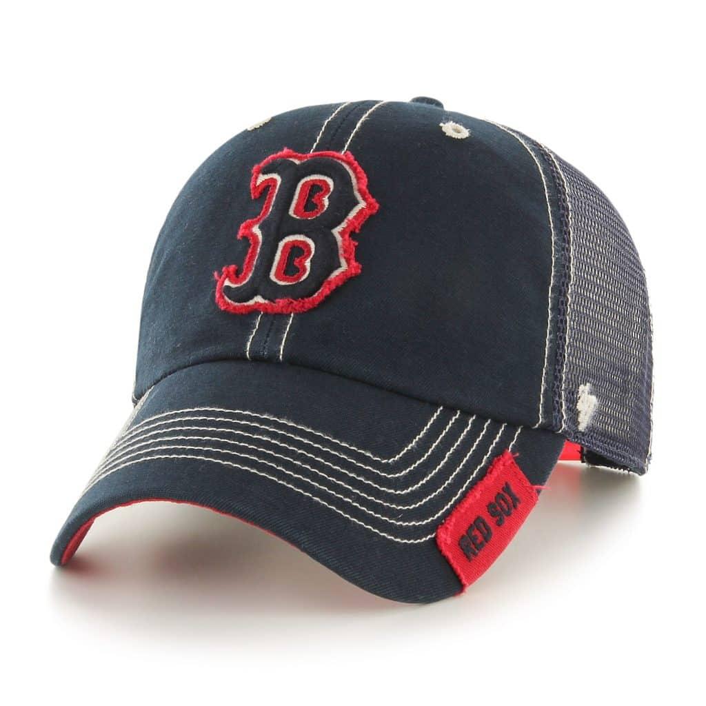 Boston Red Sox 47 Brand Turner Navy Mesh Adjustable Hat