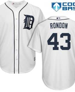 Bruce Rondon Detroit Tigers Cool Base Replica Home Jersey