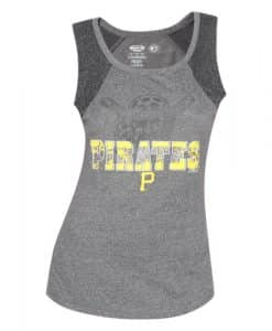 Pittsburgh Pirates Women's Gray Trademark Tank Top