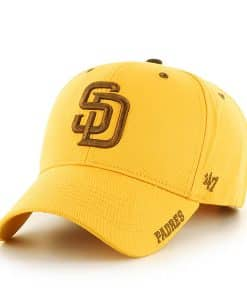 San Diego Padres 47 Brand Yellow Gold Frost MVP Adjustable Hat