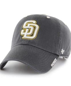 San Diego Padres 47 Brand Charcoal Ice Clean Up Adjustable Hat