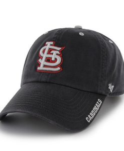 St. Louis Cardinals 47 Brand Charcoal Ice Clean Up Adjustable Hat