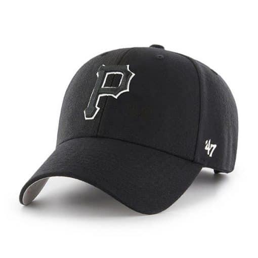 Pittsburgh Pirates 47 Brand Black MVP Adjustable Hat