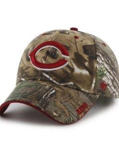Cincinnati Reds 47 Brand Camo Realtree Frost Adjustable Hat