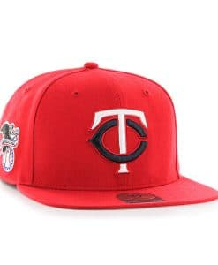 Minnesota Twins 47 Brand Red Sure Shot Adjustable Hat