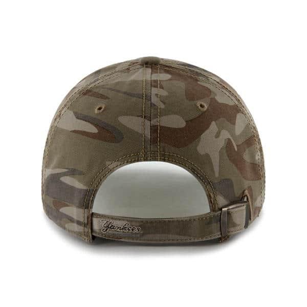 864f1556 New York Yankees Tarpoon Faded Camo 47 Brand Adjustable Hat - Detroit Game  Gear