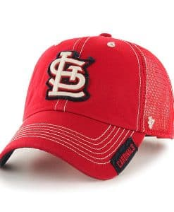 St. Louis Cardinals 47 Brand Red Turner Clean Up Adjustable Hat