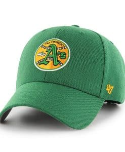 Oakland Athletics 47 Brand Classic Green MVP Adjustable Hat