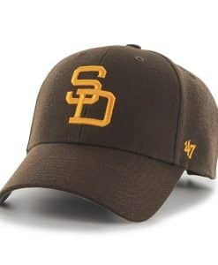 San Diego Padres 47 Brand Brown MVP Adjustable Hat