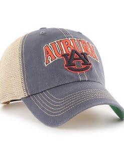 Auburn Tigers 47 Brand Vintage Navy Tuscaloosa Clean Up Adjustable Hat