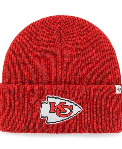 Kansas City Chiefs 47 Brand Red Brain Freeze Cuff Knit Hat