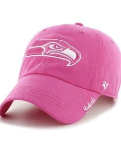 Seattle Seahawks Women's 47 Brand Pink Clean Up Hat