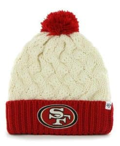 San Francisco 49ers Women's 47 Brand Natural Matterhorn Cuff Knit Hat