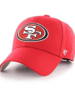 San Francisco 49ers 47 Brand Red MVP Adjustable Hat