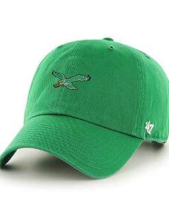 Philadelphia Eagles 47 Brand Green Baserunner Clean Up Adjustable Hat