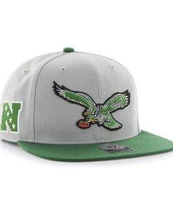 super popular 70a2a 6990b Philadelphia Eagles Super Shot Two Tone Captain Gray 47 Brand Adjustable Hat