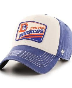 Denver Broncos 47 Brand Vintage Blue Upland MVP Adjustable Hat