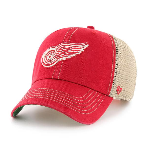Detroit Red Wings 47 Brand Red Trawler Adjustable Hat