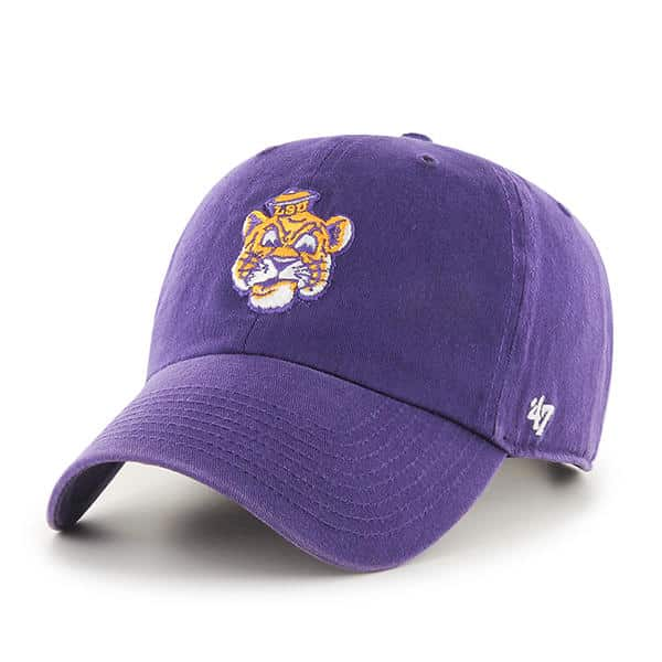 d3392ba1332264 Louisiana State Tigers Lsu 47 Brand Purple Clean Up Adjustable Hat ...