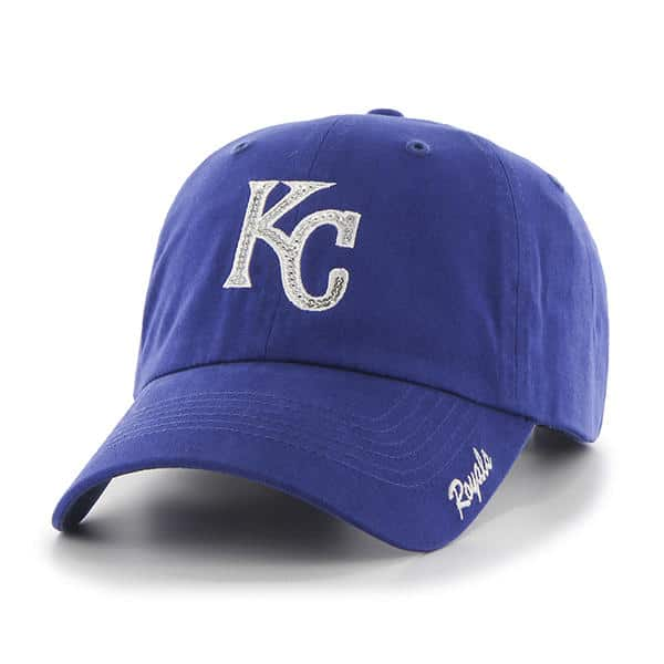 Kansas City Royals Sparkle Team Color Clean Up Royal 47 Brand Womens Hat