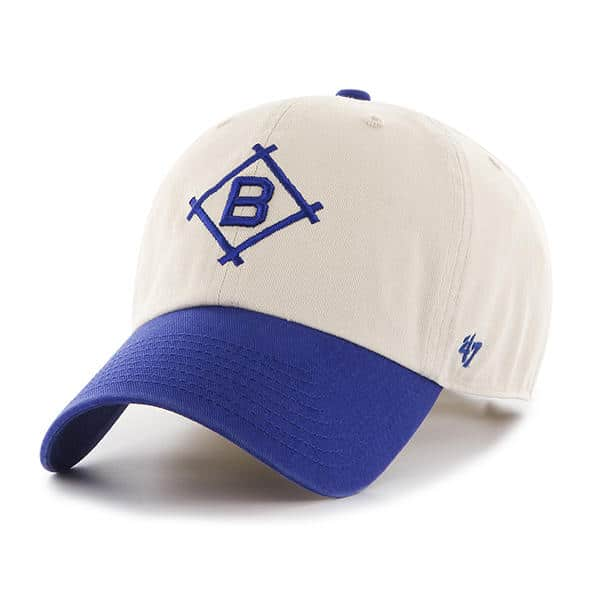 Brooklyn Dodgers 47 Brand Two Tone Clean Up Adjustable Hat