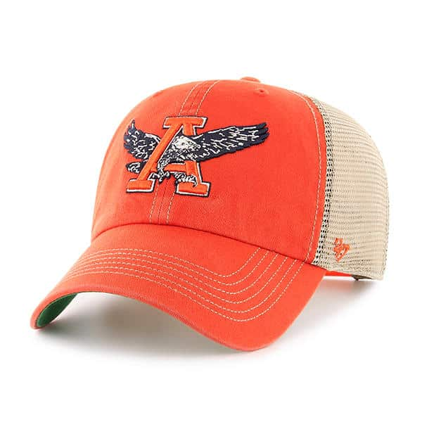 Auburn Tigers 47 Brand Trawler Orange Clean Up Adjustable Hat
