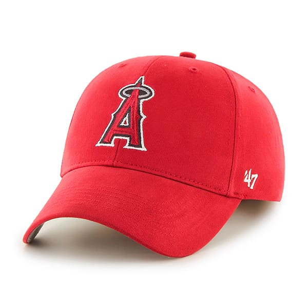 Los Angeles Angels Basic MVP Home 47 Brand Adjustable Hat