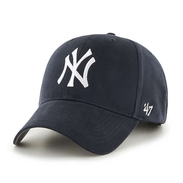 New York Yankees Basic Navy MVP Home 47 Brand Youth Hat