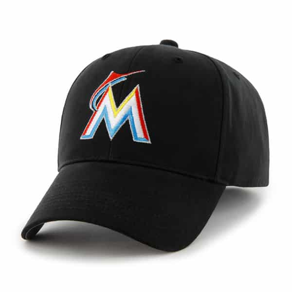 Miami Marlins Basic MVP Home 47 Brand KID Hat