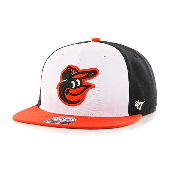 Baltimore Orioles Amble Captain Orange 47 Brand Adjustable Hat