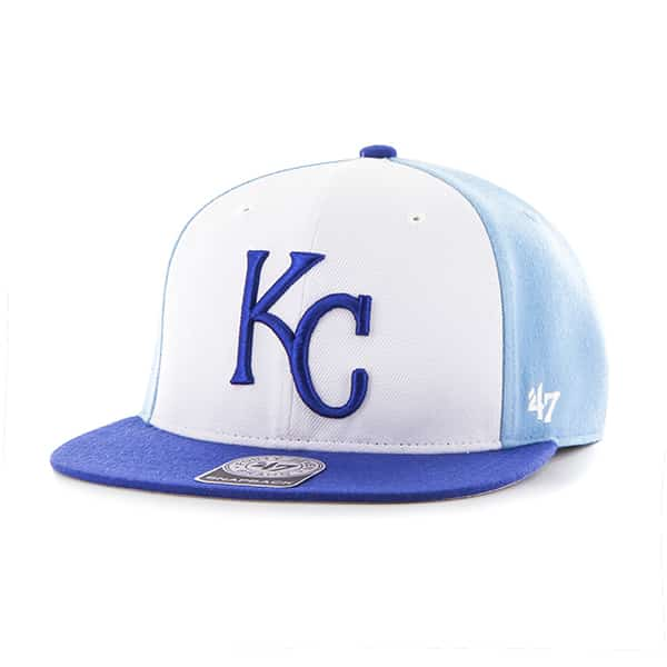 Kansas City Royals Amble Captain Royal 47 Brand Adjustable Hat