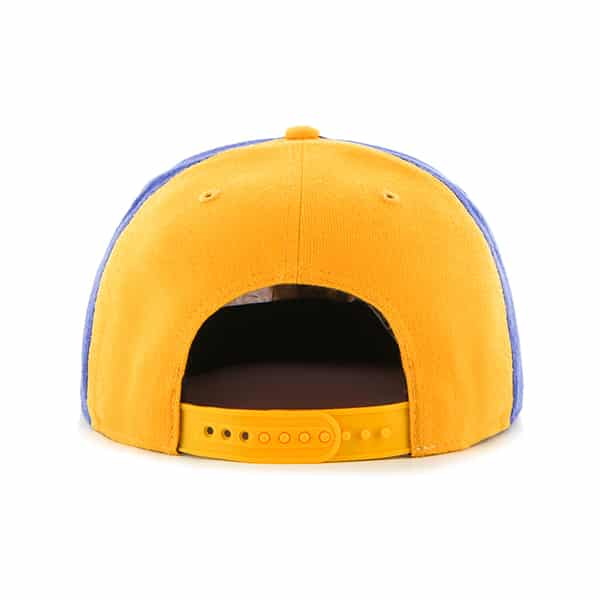 b38e9fe36a448 Milwaukee Brewers Amble Captain Gold 47 Brand Adjustable Hat. Home   MLB  Gear   Milwaukee Brewers Gear   Milwaukee Brewers Hats