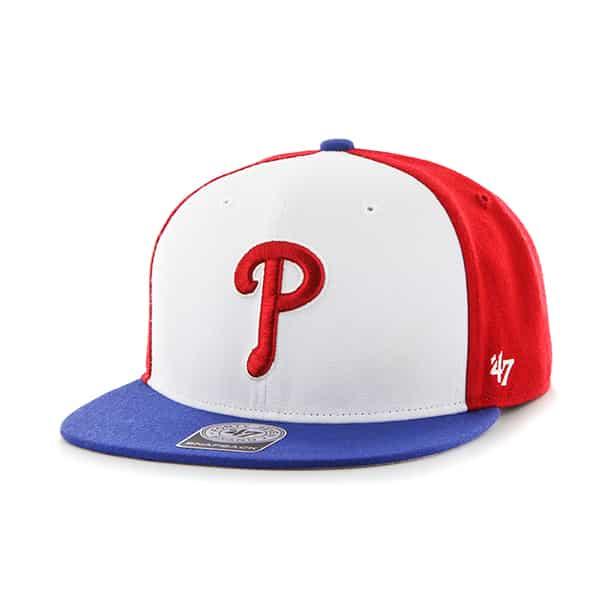 Philadelphia Phillies Amble Captain Royal 47 Brand Adjustable Hat