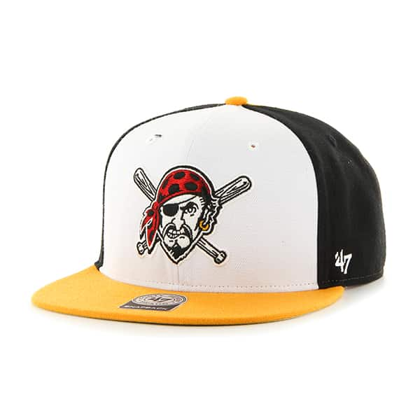 Pittsburgh Pirates Amble Captain Gold 47 Brand Adjustable Hat