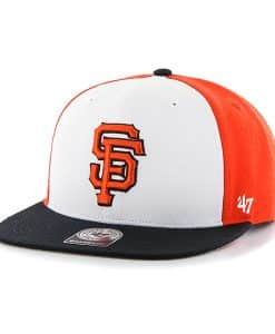 San Francisco Giants Amble Captain Black 47 Brand Adjustable Hat