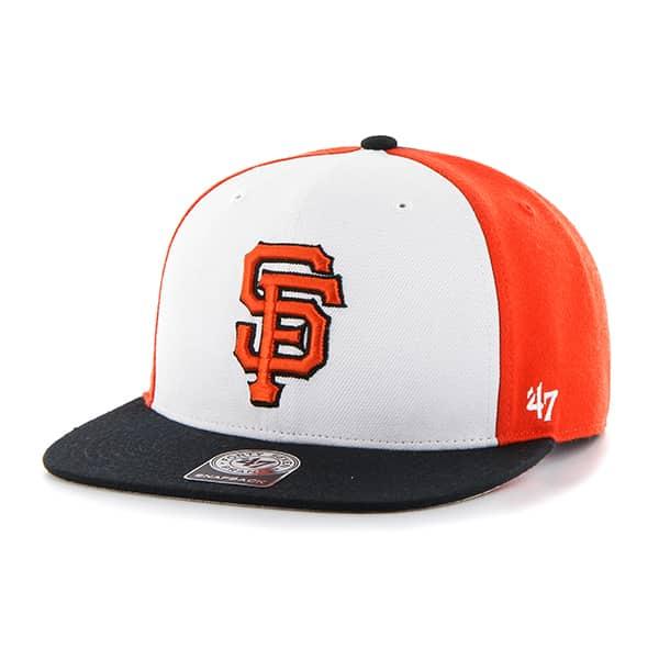 San Francisco Giants Amble Captain Black 47 Brand Adjustable Hat