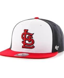 St. Louis Cardinals Amble Captain Red 47 Brand Adjustable Hat