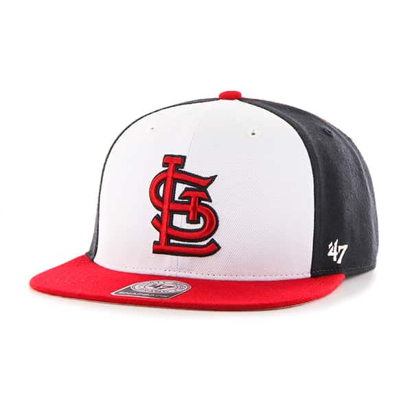 St. Louis Cardinals Amble Captain Red 47 Brand Adjustable Hat