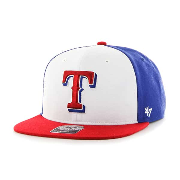 Texas Rangers Amble Captain Red 47 Brand Adjustable Hat
